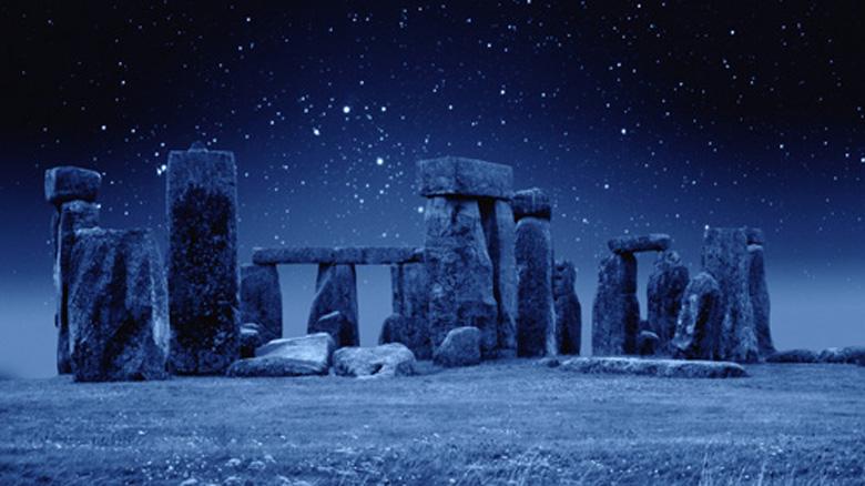 Stonehenge at Night