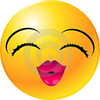 smile bacio